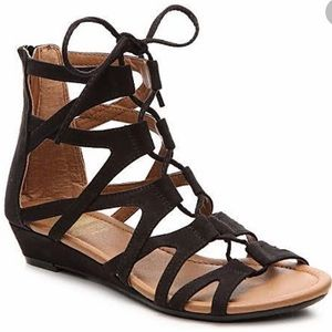 👡Women's CROWN VINTAGE Lace-Up Sandals Size 7 Med
